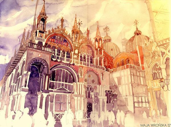 Arhitektura u delima slikara Venezia_by_takmaj