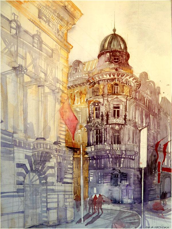 Arhitektura u delima slikara Wien_by_takmaj