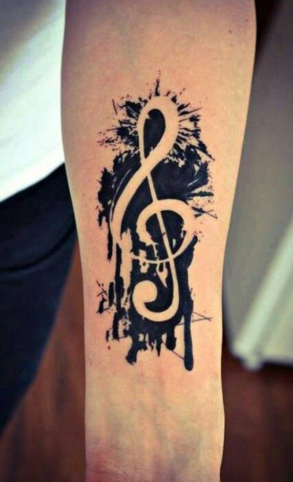 29 Music tattoo