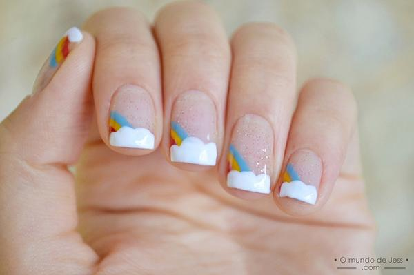 Rainbow Nails - 40 Examples of Elegant Nail Art <3 <3 ... - 40 Examples Of Elegant Nail Art Art And Design