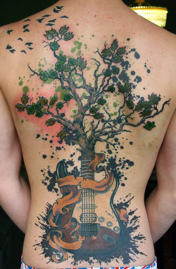 39 Another nice tree tattoo