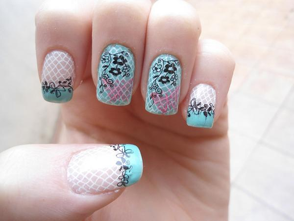 40 examples of elegant nail art art and design nail art 40 examples of elegant nail art 3 3 prinsesfo Choice Image