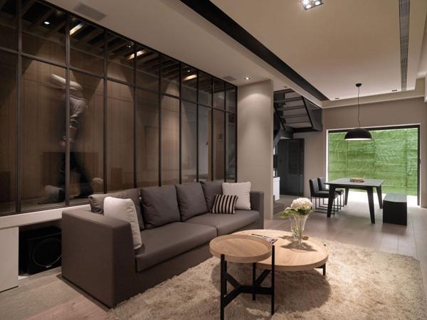 A Multilevel Contemporary Apartment 9 Elegant Interior Design Of