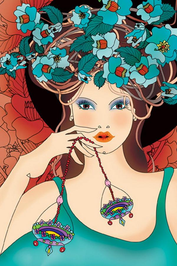 Colorful Illustrations by Ella Tjader - Colorful Illustrations by Ella Tjader  <3 <3