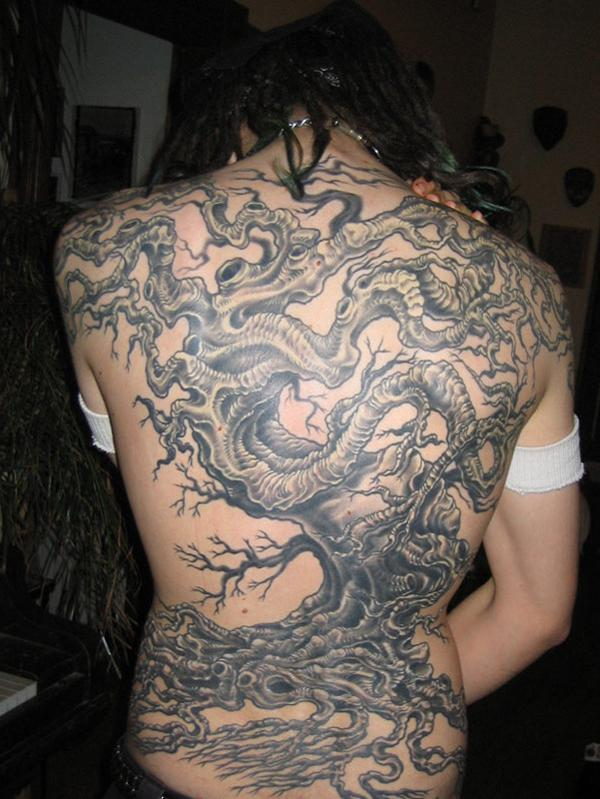660b59970 Tree tattoo backpiece - 60 Awesome Tree Tattoo Designs <3 <3 ...