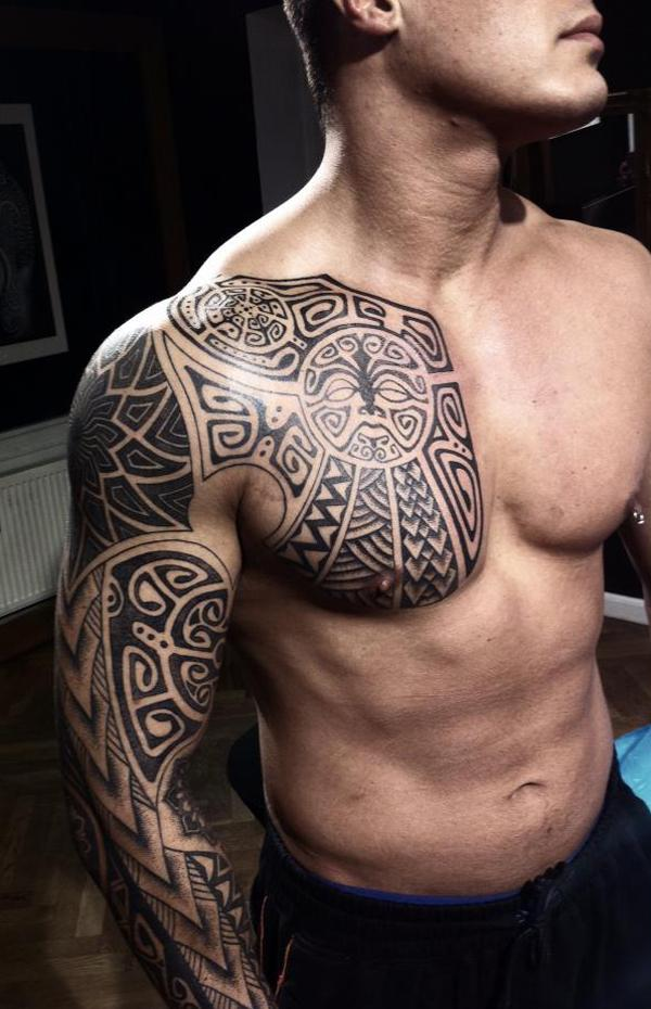 Maori Tattoos Designs 2015