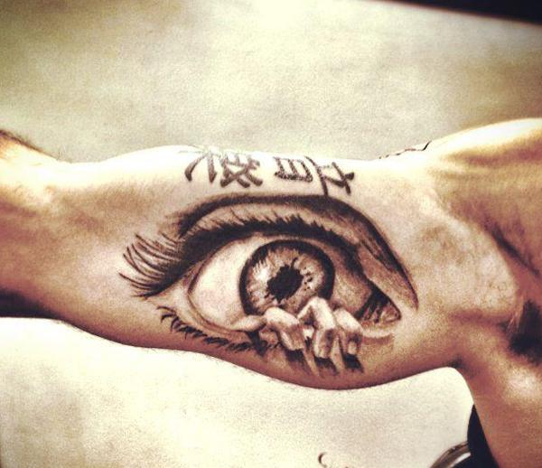 50 Crazy Eye Tattoos