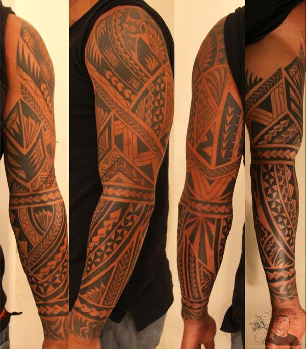 202a605c8 Maori Style Tattoo - 35 Awesome Maori Tattoo Designs <3 <3 ...