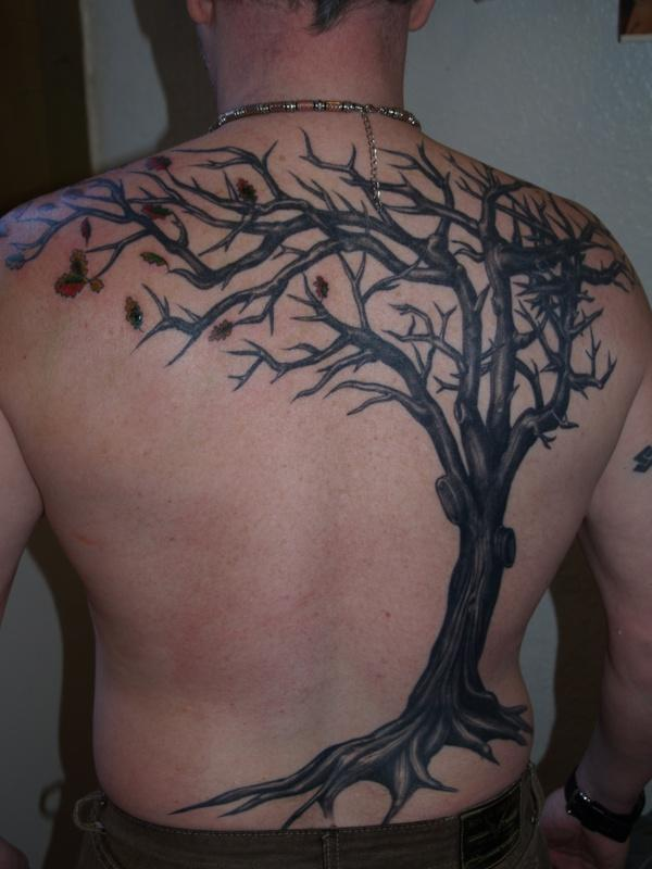15dc50530 Apple Tree - 60 Awesome Tree Tattoo Designs <3 <3 ...