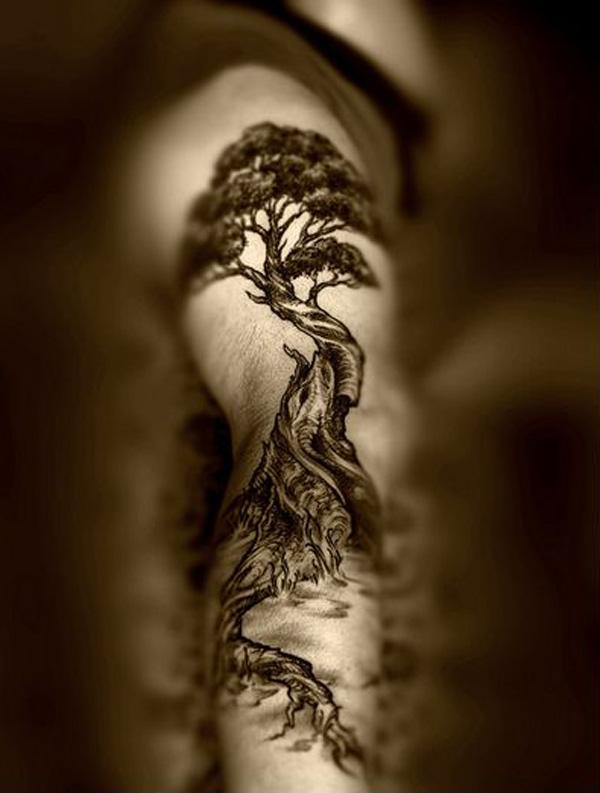 fc4ebcd3e 60 Awesome Tree Tattoo Designs | Art and Design
