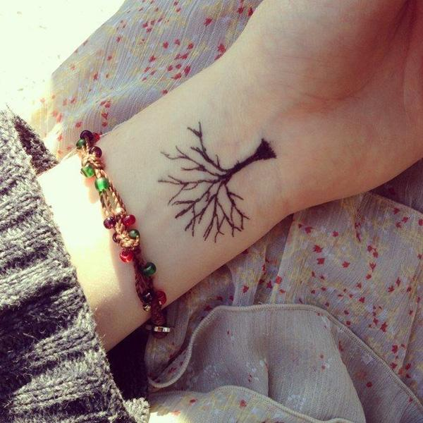 fc0007998 60 Awesome Tree Tattoo Designs   Art and Design