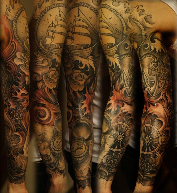 Arm Half Sleeve Cool Tattoos Tattoo Design