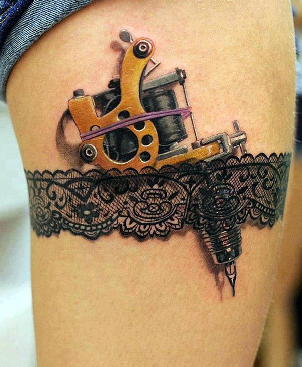 60+ Amazing 3D Tattoo Designs