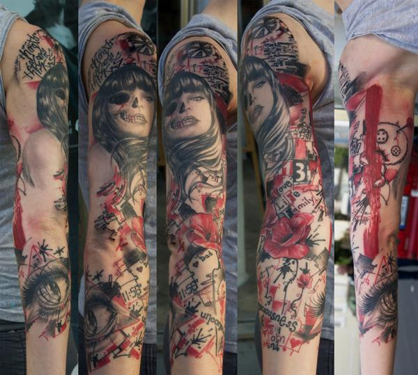 dự án cánh tay tùy chỉnh - 50+ mát Sleeve Tattoo Designs <3 <3