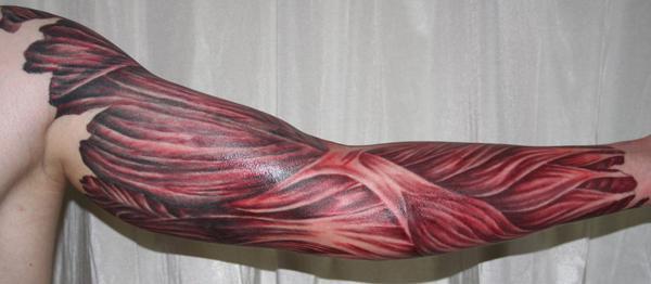 cánh tay cơ bắp tissue5 Tattoo - 50+ mát Sleeve Tattoo Designs <3 <3