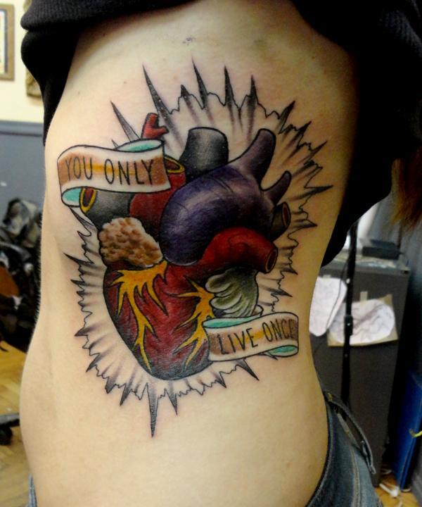 turtle heart tattoo