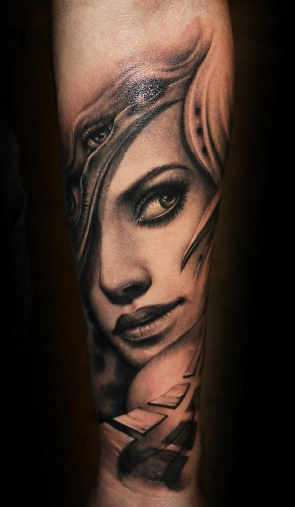 042664056 Kawasaki girl with changes. Portrait Tattoo - 45 Awesome Portrait Tattoo  Designs <3 <3 ...