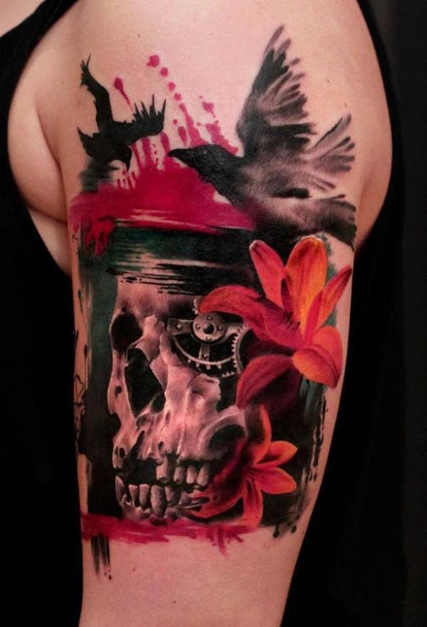 70+ Amazing 3D Tattoo Designs | Art and Design