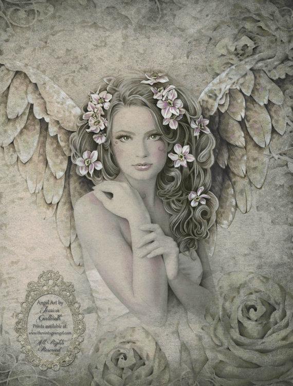 Vintage Fantasy Art By Jessica Galbreth And Design