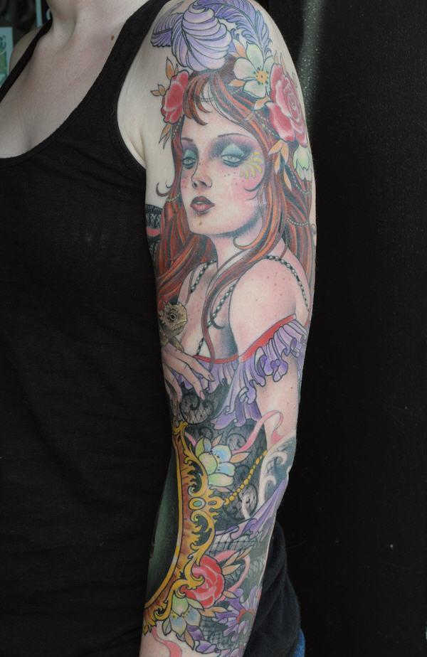 50 Amazing Girl Tattoo Designs Art And Design