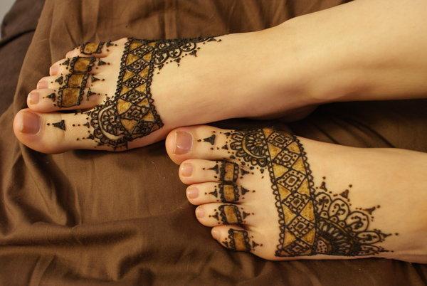 henna chân hình xăm - 50 ảnh vui nhộn Tattoo Designs Foot <3 <3