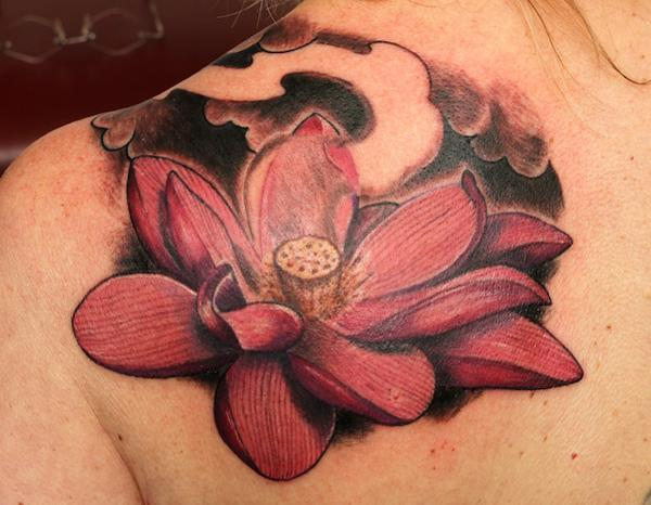 50 Elegant Lotus Tattoo Designs | Art and Design