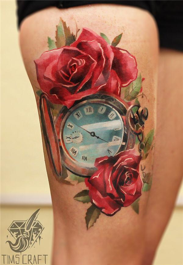 Clock Tattoo Meaning Quotes