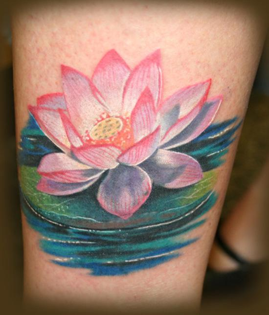 70 elegant lotus tattoo designs art and design lotus tattoo the best known species of lotus is indian lotus which has large mightylinksfo