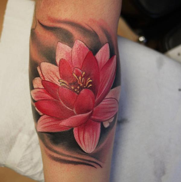 -lotus-xăm - 50 elegent Lotus Tattoo Designs <3 <3