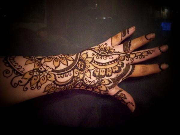 Mehndi Tattoo For Hand : 50 intricate henna tattoo designs art and design