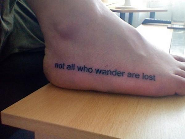 từ hình xăm trên chân - 50 ảnh vui nhộn Foot Tattoo Designs <3 <3