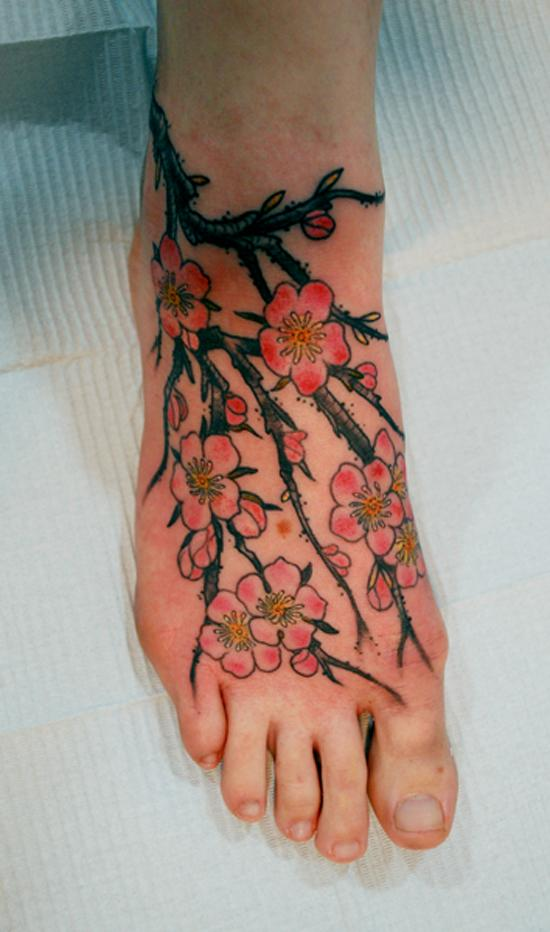 Foot Tattoo