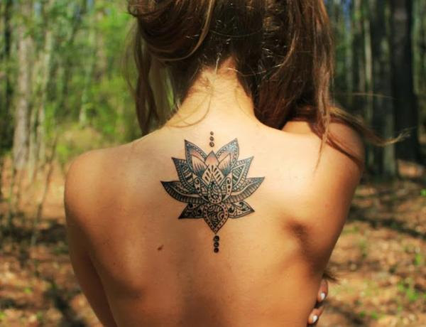 sen hình xăm - 50 elegent Lotus Tattoo Designs <3 <3