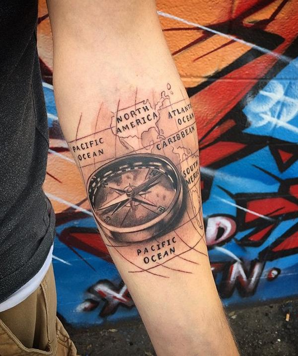 compass-and-map-tattoo-56
