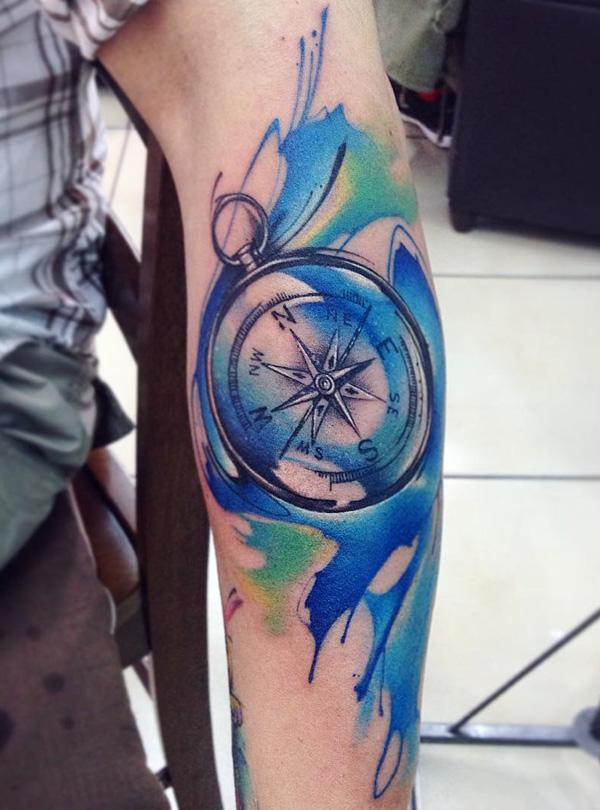 compass-tattoo-81