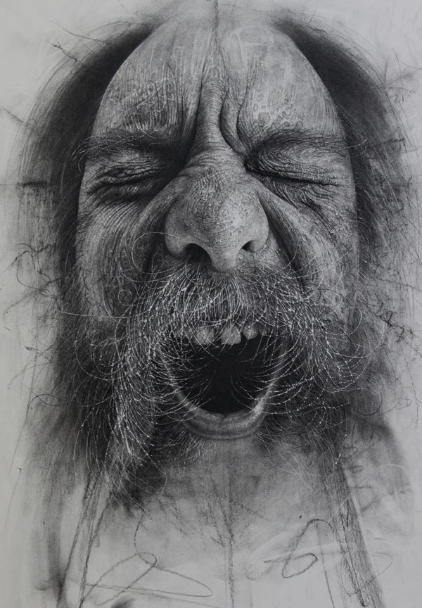 charcoal drawings by douglas mcdougall and design