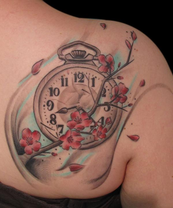 4f0bb353a 100 Awesome Watch Tattoo Designs | Art and Design