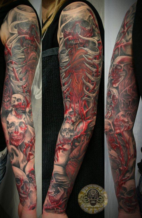 95 Awesome Examples of Full Sleeve Tattoo Ideas | Art and Design