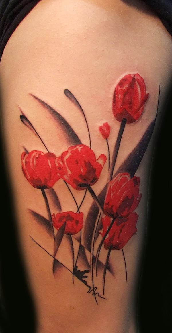 Gallery for purple tulip tattoo - Yellow poppy flower meaning ...