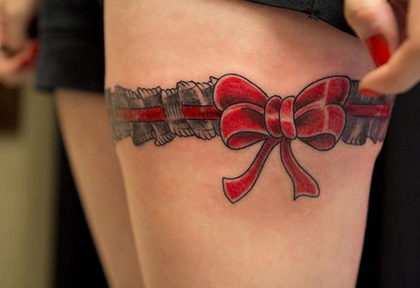 2e49fabb5068f small anchor tattoo on wrist. red Ribbon Tattoo - 70 Lovely Tattoos for  Girls <3 <3 ...