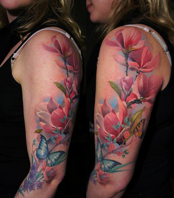 12 Photos Of The Exotic Flower Tattoo Designs