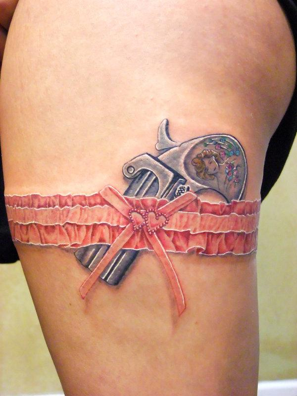 Lace Cross Drawing 25 Pistol Lace Tattoo 55