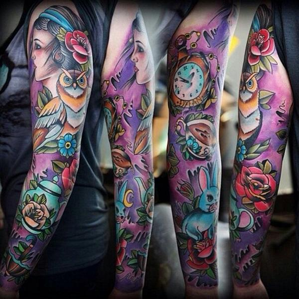 100+ Awesome Examples of Full Sleeve Tattoo Ideas