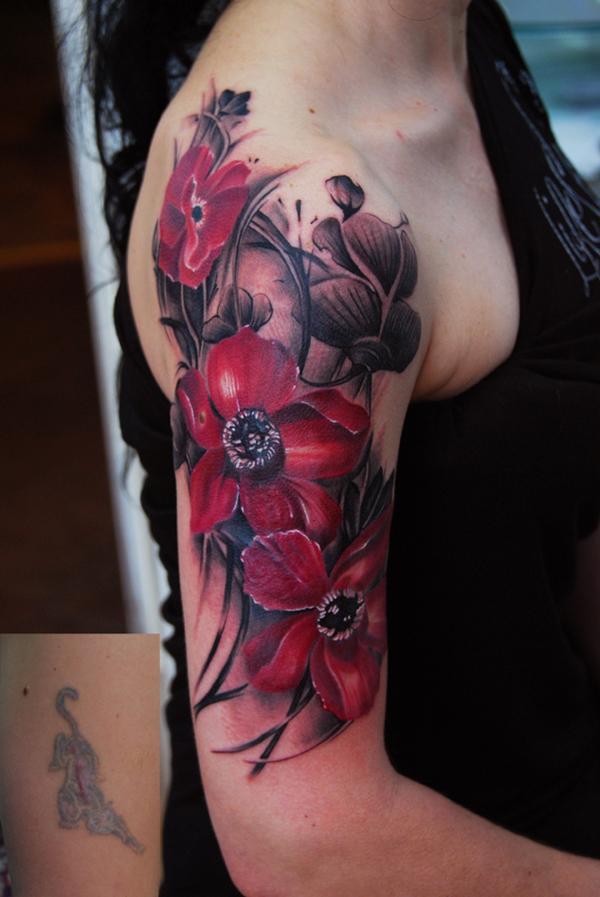 65 Beautiful Flower Tattoo Designs Cuded