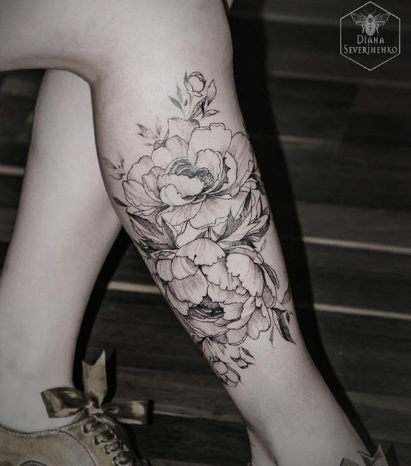 ff7d428be leg tattoo for girl - 70 Lovely Tattoos for Girls <3 <3 ...