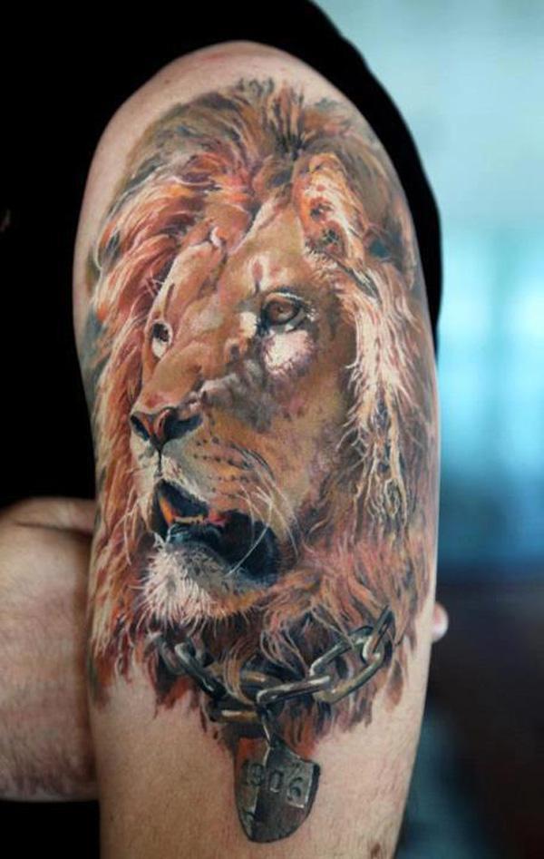black and grey tiger tattoo designs