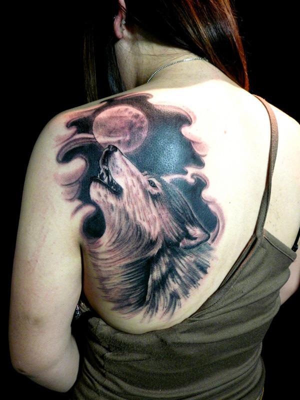 tribal horse head tattoo
