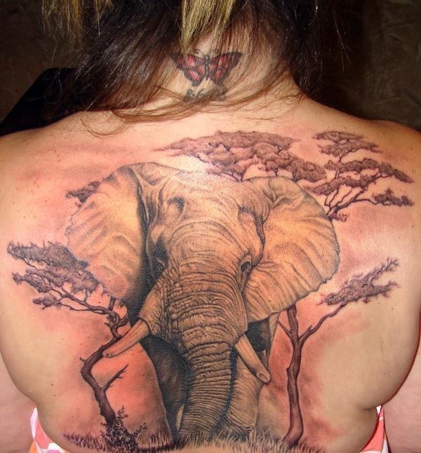 animal tribal tattoo