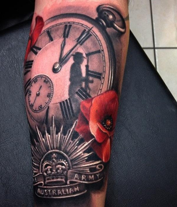 relistic-watch-with-flower-and-crown-tattoo-for-man-72