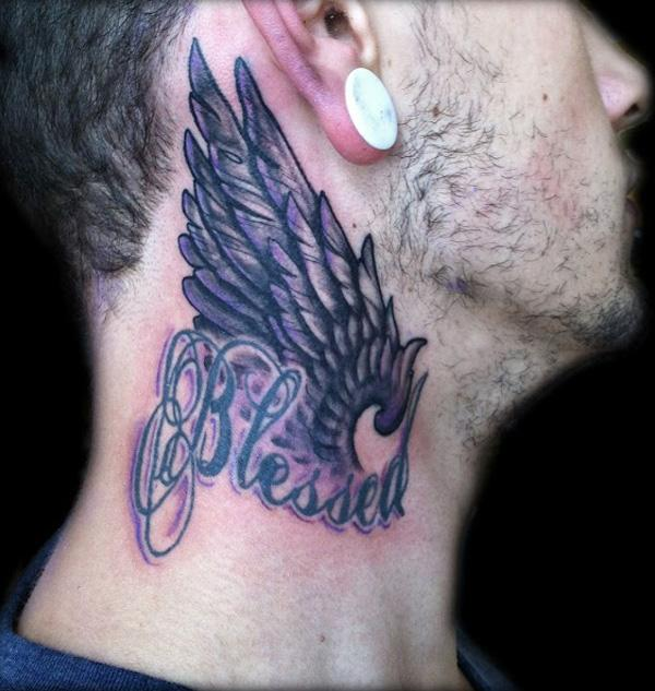 60 Awesome Neck Tattoos Cuded Neck tattoo design may not be as popular as tattoos on arm, legs, chest, or back of the body, but having tattoos on the neck is considered a little bit extreme and it will change your presentation to. 60 awesome neck tattoos cuded